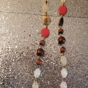 Beaded Wooden Necklace